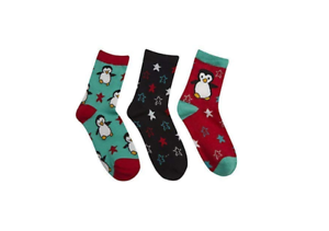 BRAND NEW LADIES COTTON RICH CHRISTMAS SHOES HOSIERY DESIGN NOVELTY SOCKS