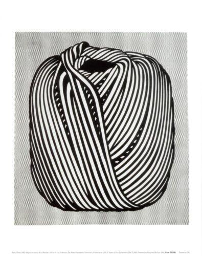 Ball of Twine 1963 by Roy Lichtenstein Art Print Pop Poster 11x14