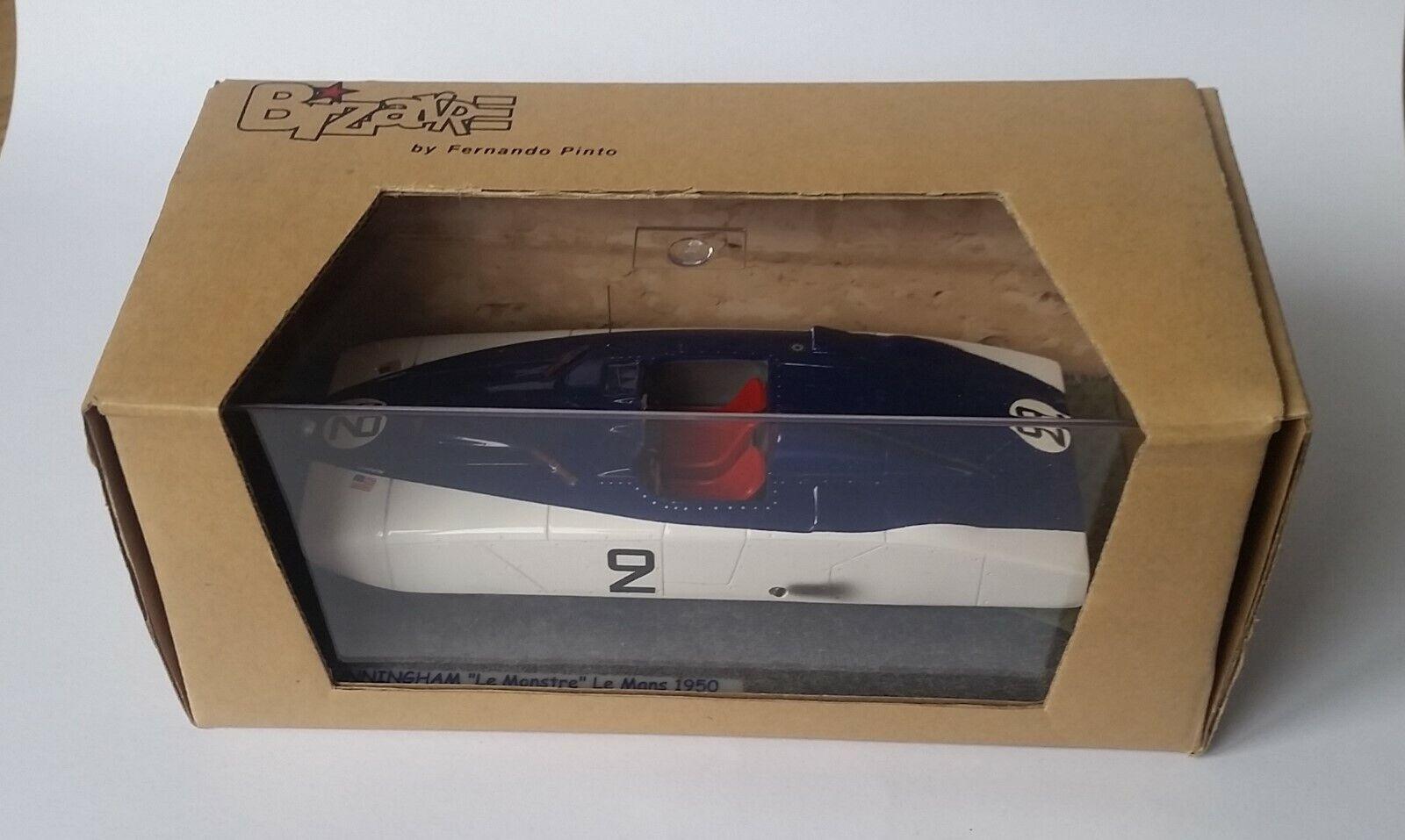 Cunningham  Le Monstre  24h Le Mans 1950  2 1 43 Bizarre BZ3 Ultra RARE    MiB
