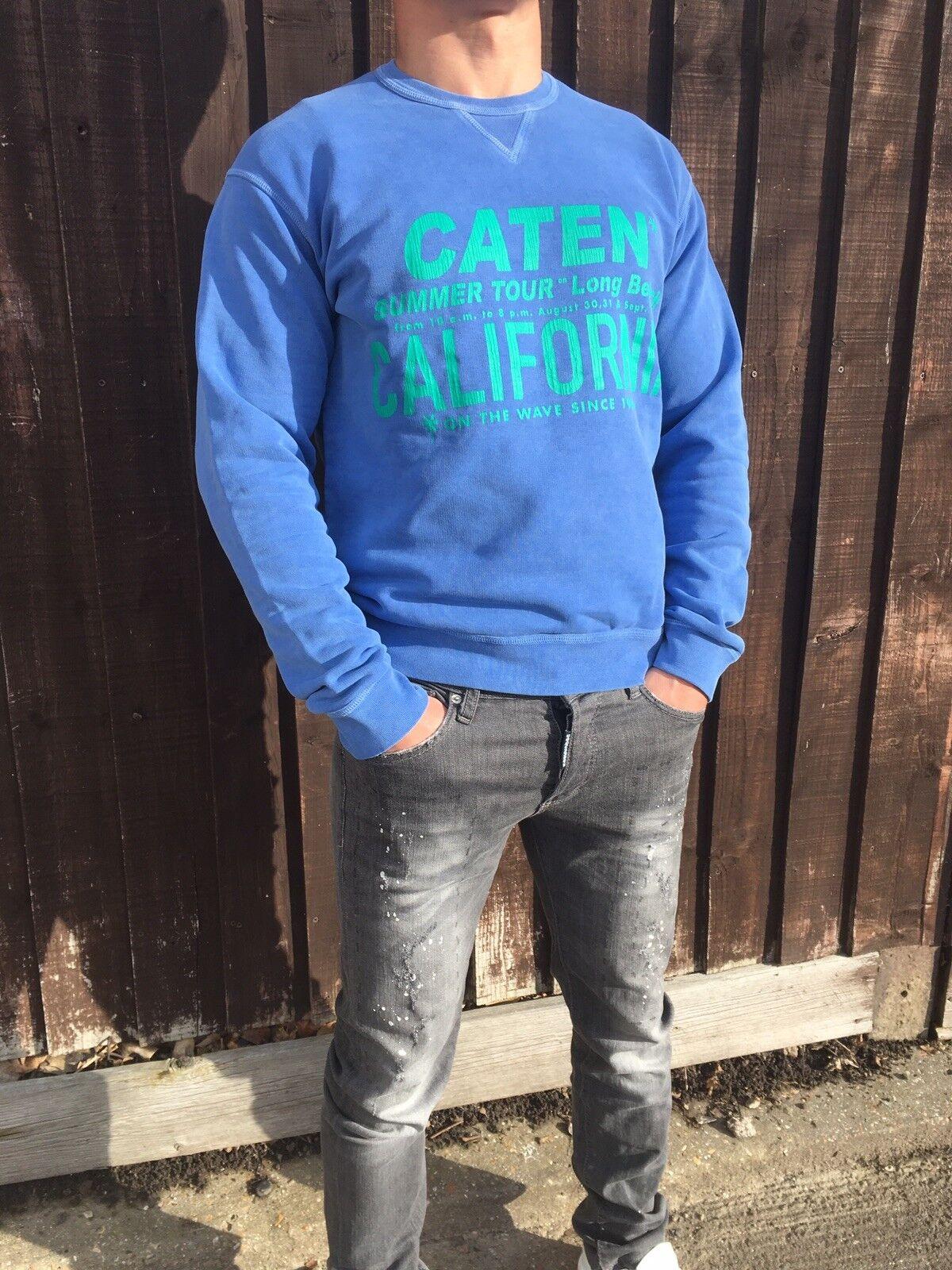 New DsquaROT2 Sweatshirt  Blau, Größe  ( M/L).