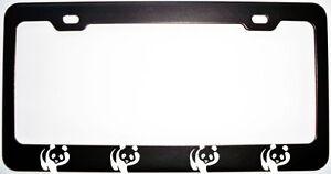 POWERED BY PANDAS PANDA License Plate Frame