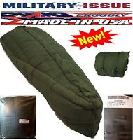 Military Issue Sleeping Bag +60f To -20f Deg Extreme Cold Weather Usgi Ecw