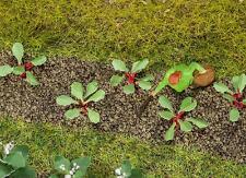 Faller HO 181273 28 Plants de rhubarbe Neuf