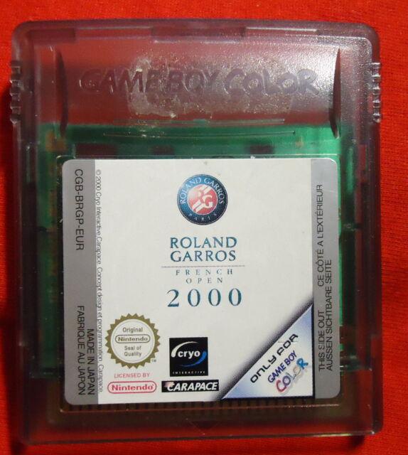 Roland Garros French Open 2000 - Nintendo Game Boy color Advance - CGB-BRGP-EUR