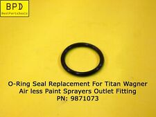 Titan Wagner Airless Paint Sprayers Outlet Fitting O Ring Replacement 9871073