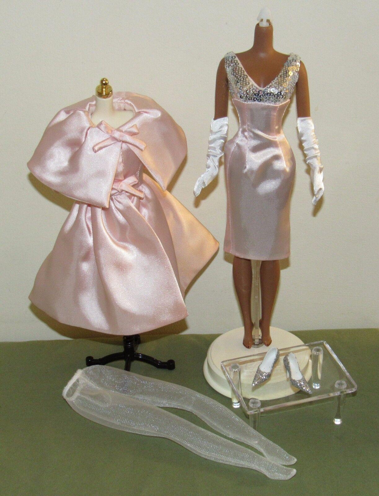 Modelo De Moda Rubor Belleza Barbie Silkstone traje conjunto sólo BFC Exclusivo