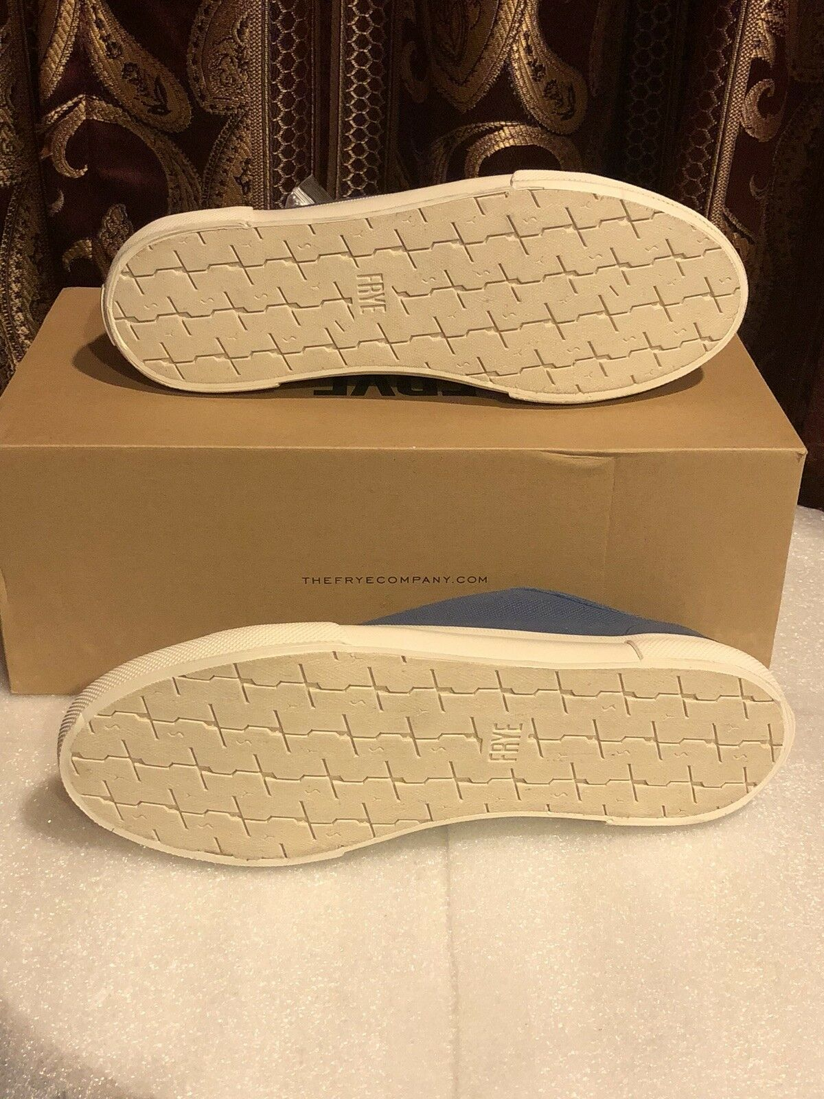 FRYE Gia Canvas Low Lace Größe 9.5 9.5 9.5 New In Box cf66e5