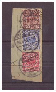 Deutsches-Reich-Paketkartenabschnitt-MiNr-47-48-50-KGS-Frankfurt-26-05-1893