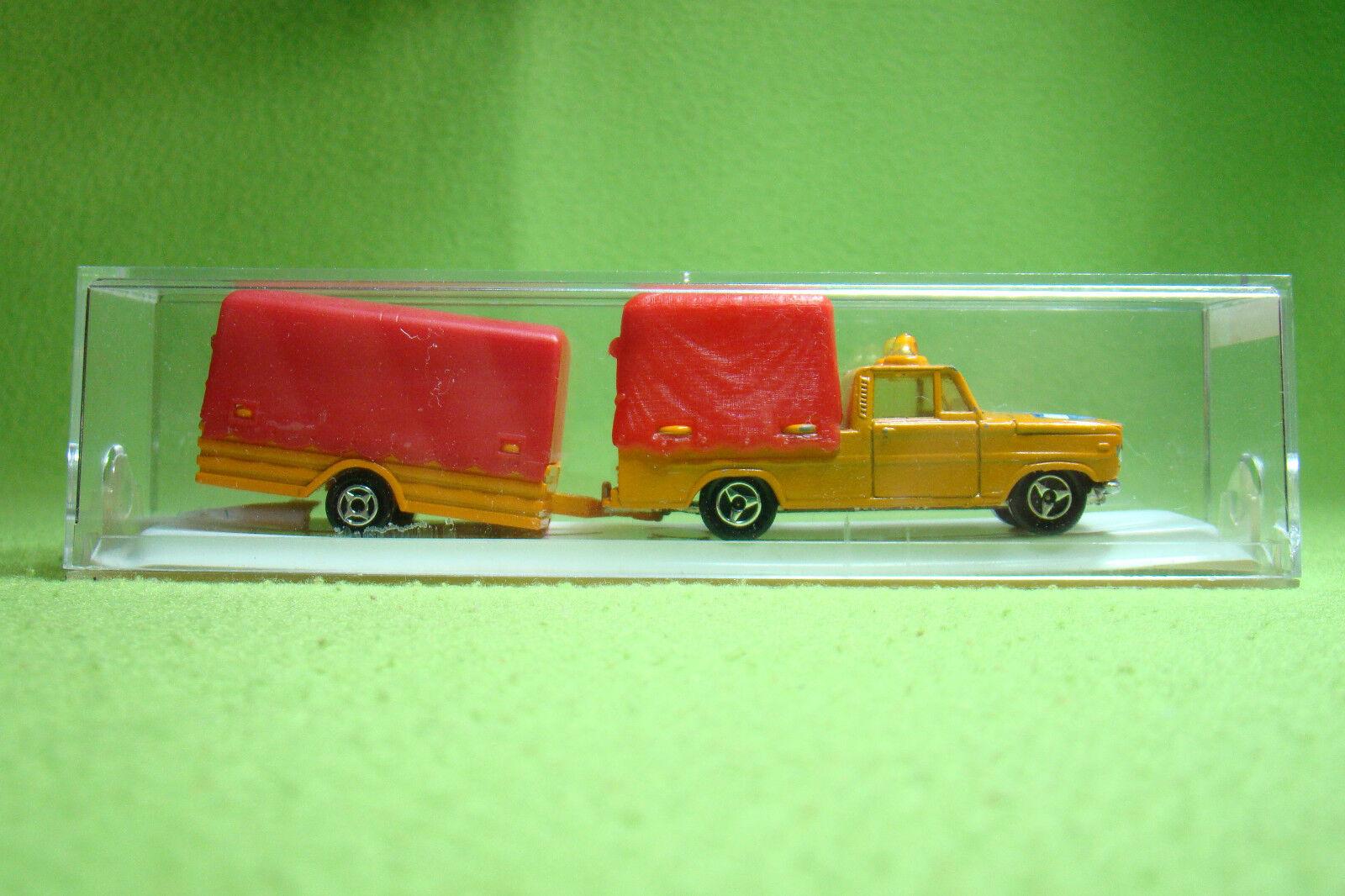 Voiture miniature-Majorette  374-voitures particulières à planennhänger-OVP  remise