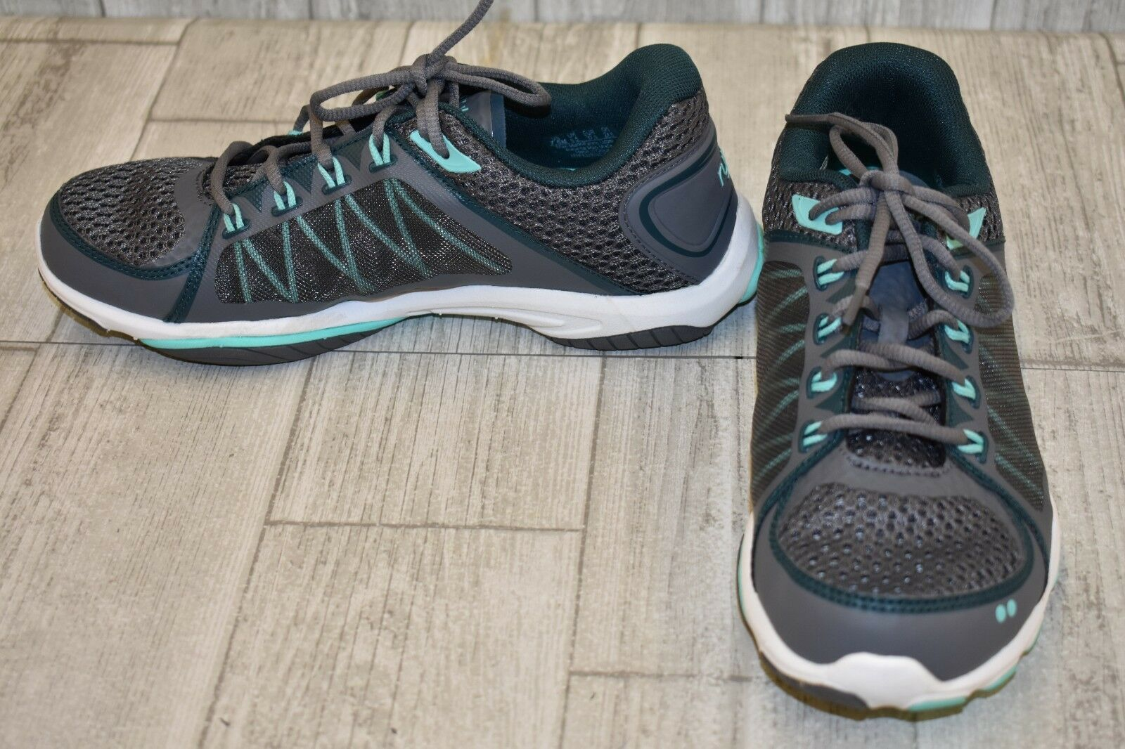 Ryka Influence 2.5 Running shoes, Women's Size 7.5M, Grey Teal