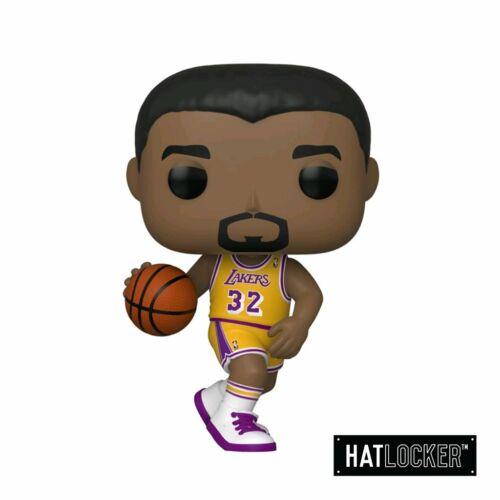 Pop Basketball Sports Legends Magic Johnson LA Lakers Home Jersey Vinyl
