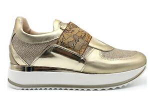 Alviero-Martini-1a-Classe-Junior-0287-0030-Platino-Sneakers-Scarpe-Donna-Bambini