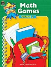 Math Games, Grade 3 (Practice Makes Perfect)