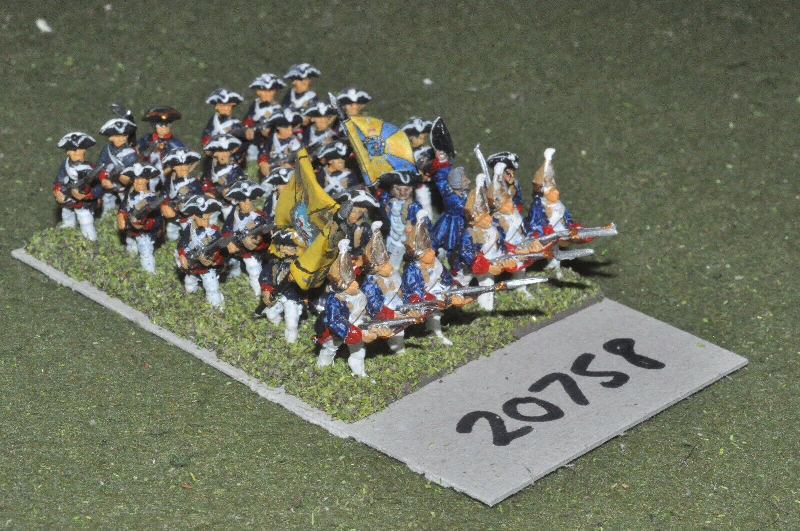 15mm 7YW   hessian - infantry 30 figures  - inf (20758)