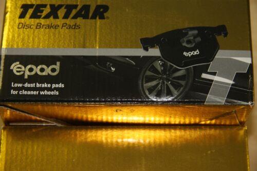 Textar epad-Plaquettes de freins Audi a4 et audi a6 jeu pour arrière