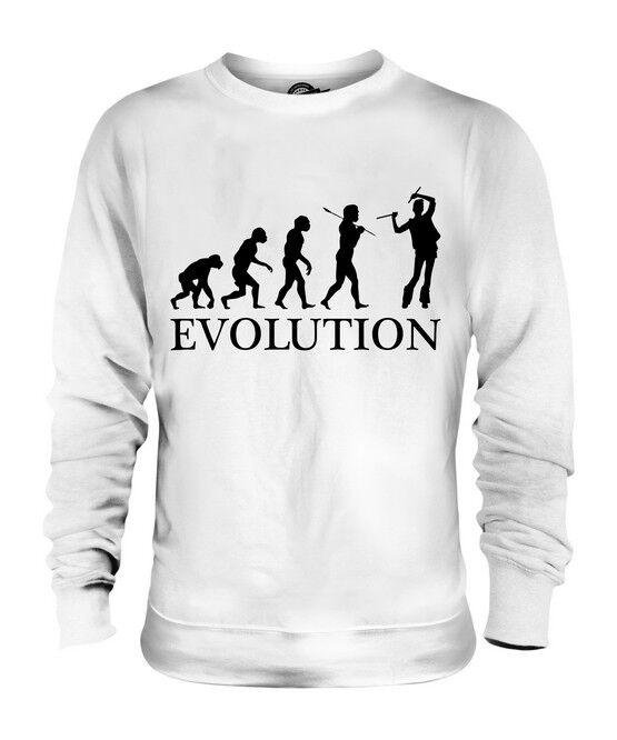 RAVER EVOLUTION OF MAN UNISEX SWEATER  Herren Damenschuhe LADIES GIFT RAVING