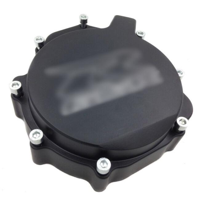 Billet Engine Stator Cover see through Suzuki 2005-2008 GSXR1000 Black left side BLACK