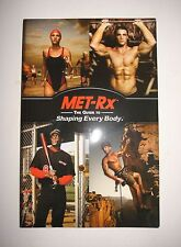 Met-Rx - The Guide To Shaping Every Body - Nutrition, Body, Lifstyle - BOOK
