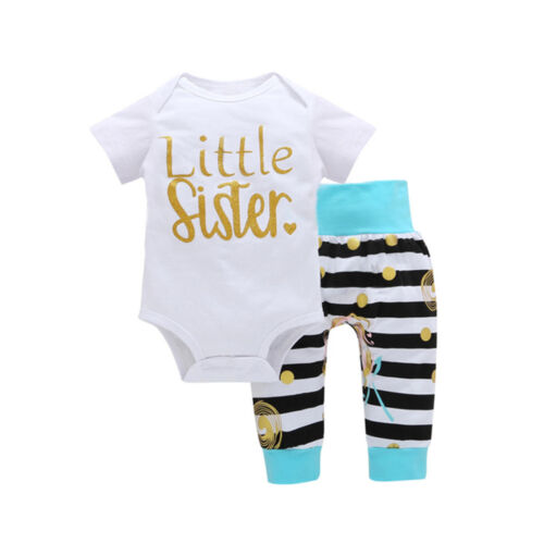 Infant Toddler Baby Girls Floral Hooded Pullover Tops Pants Trousers Outfits AA