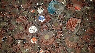 20x Lamellenschleifer Fächerschleifer Schleifmop mit Schaft für Bohrmaschine