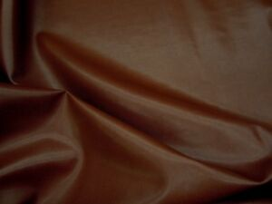 9 1 4 Yards Saddle Brown Bonded Leather Upholstery Fabric R2939 Ebay