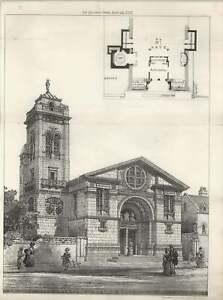 1887-Church-Of-St-John-The-Baptist-Brighton-Street-View-And-Plan
