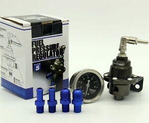 Tomei-TypeS-Kraftstoff-Benzindruckregler-Universal-185001-Nissan-Honda-Bmw-Mazda