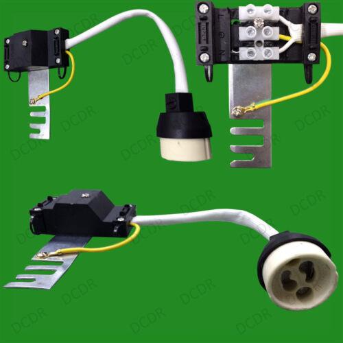 10x gu10 douille en céramique résistant à la chaleur Lampe FLEX titulaire pont downlight montage