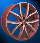 Rondell 02RZ 8 X 17 5 X 108 45 metallic rot matt poliert