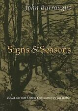 Signs and Seasons by John Burroughs (2006, Paperback)
