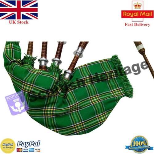 SH Highland Bagpipe Learning Beginner Full Kit//Irish Bagpipes//Gaita//Dudelsack