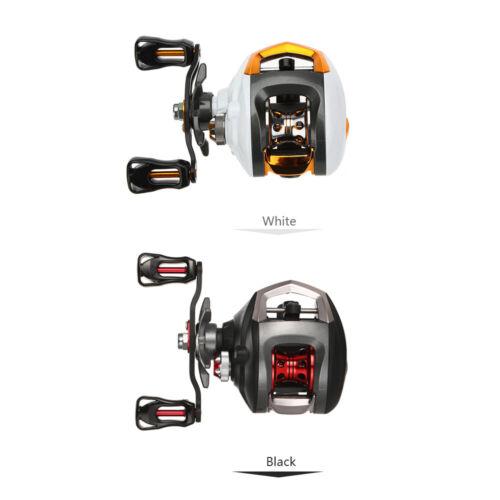 12+1BB Ball Bearings Baitcasting Reel Fishing Wheel High Speed w//Magnetic Brake