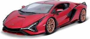 Lamborghini Sian FKP 37 rot 2019 - 1:18 Burago