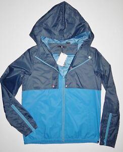 Slicker Nye Windbreaker Dc Dame Jacket Rainstead Hooded Sko Medium qAYqnB