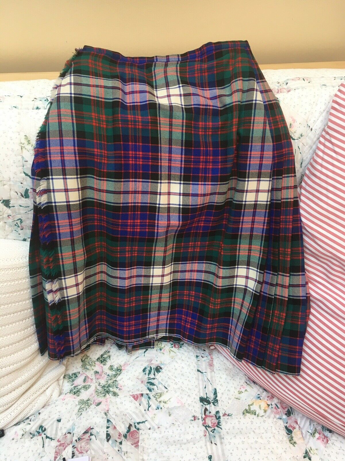 Highland Dancing Outfit - Navy/Green/Cream/Red
