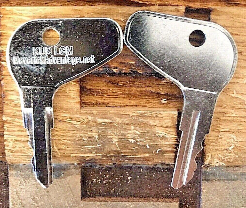 20x Ignition Keys for Kubota L G M Series Mahindra Mitsubishi H32412 35260-31852