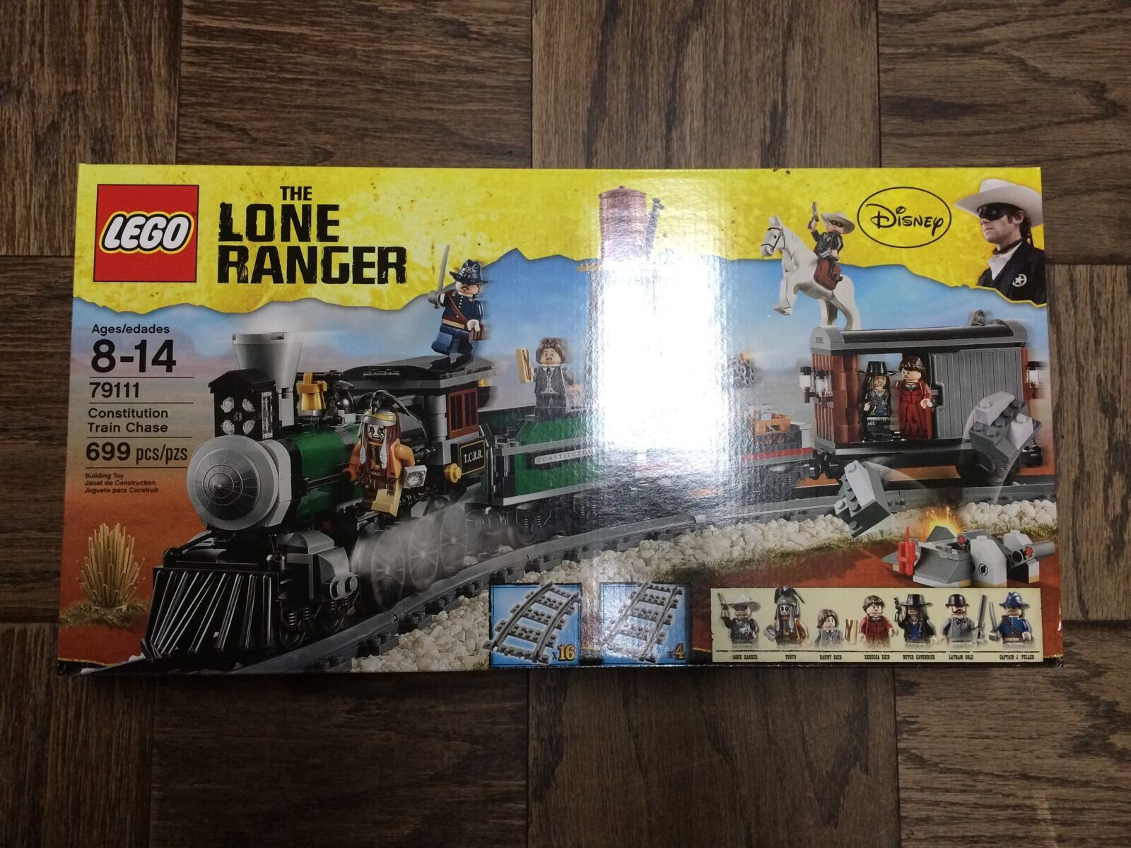 Nuovo LEGO The Lone Ranger Constitution Train Chase 79111-NISB-Discontinued