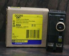 Qo280 Square D Plug In Circuit Breaker 80 Amp 120240v 2 Pole New In Box