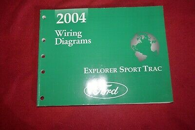 2004 Ford Explorer Sport Trac Wiring Diagram Manual FCCA ...