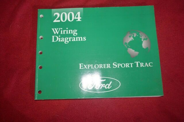 2004 Ford Explorer Sport Trac Wiring Diagram Manual Fcca