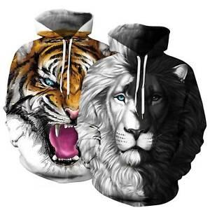 Couples-3D-Tiger-Printed-Pullover-Men-Women-Hooded-Unisex-Jumper-Tops-Sweatshirt