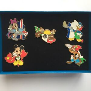 EPCOT-International-Food-and-Wine-Festival-2008-Boxed-5-Pin-Disney-Pin-65010