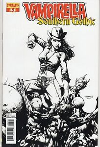 Vampirella-Southern-Gothic-3-High-End-B-amp-W-Cover-Limited-Edition-of-50-COA