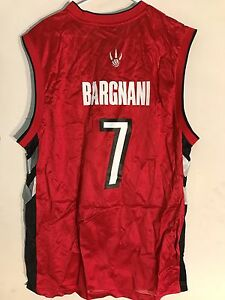 info for 9e1bf b28a5 Details about Adidas NBA Jersey Toronto Raptors Andrea Bargnani Red  Throwback sz XL