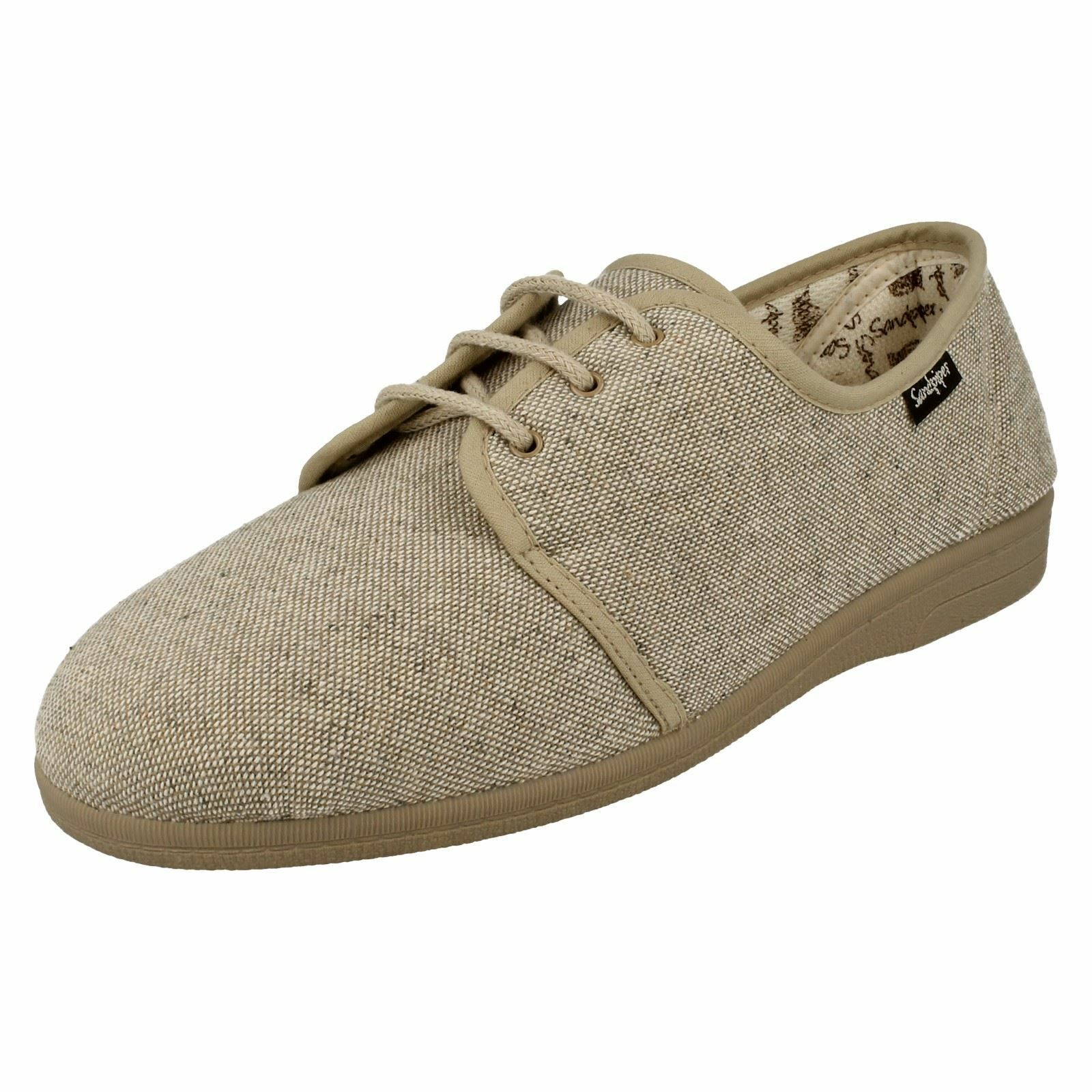 Mens Sandpiper Lace-Up Casual Canvas shoes Kevin