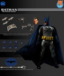 Un: 12 Collectif Batman Chevalier Ascendant Figurine Bleue Px Aperçus Mezco 696198765717