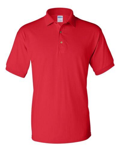 Gildan DryBlend Jersey Polo Sport Shirt 8800 S-3XL cotton//polyester Unisex