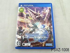 Phantasy-Star-Nova-PS-Vita-Japanese-Import-PSVita-Japan-Region-Free-US-Seller