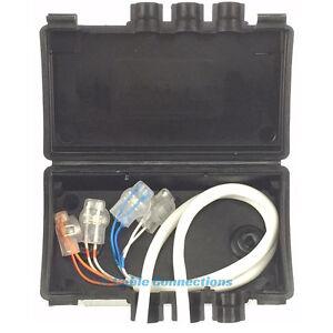 external telephone cable junction box crimp housing bt virgin media