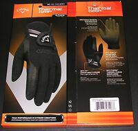 Callaway Thermal Grip Gloves 1 Pair Black -choose-size- Free Shipping